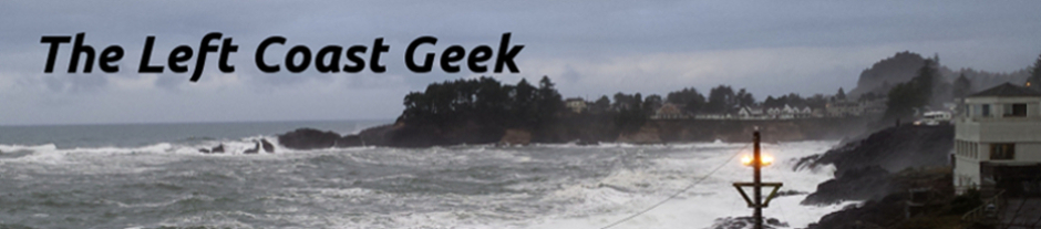 The Left Coast Geek